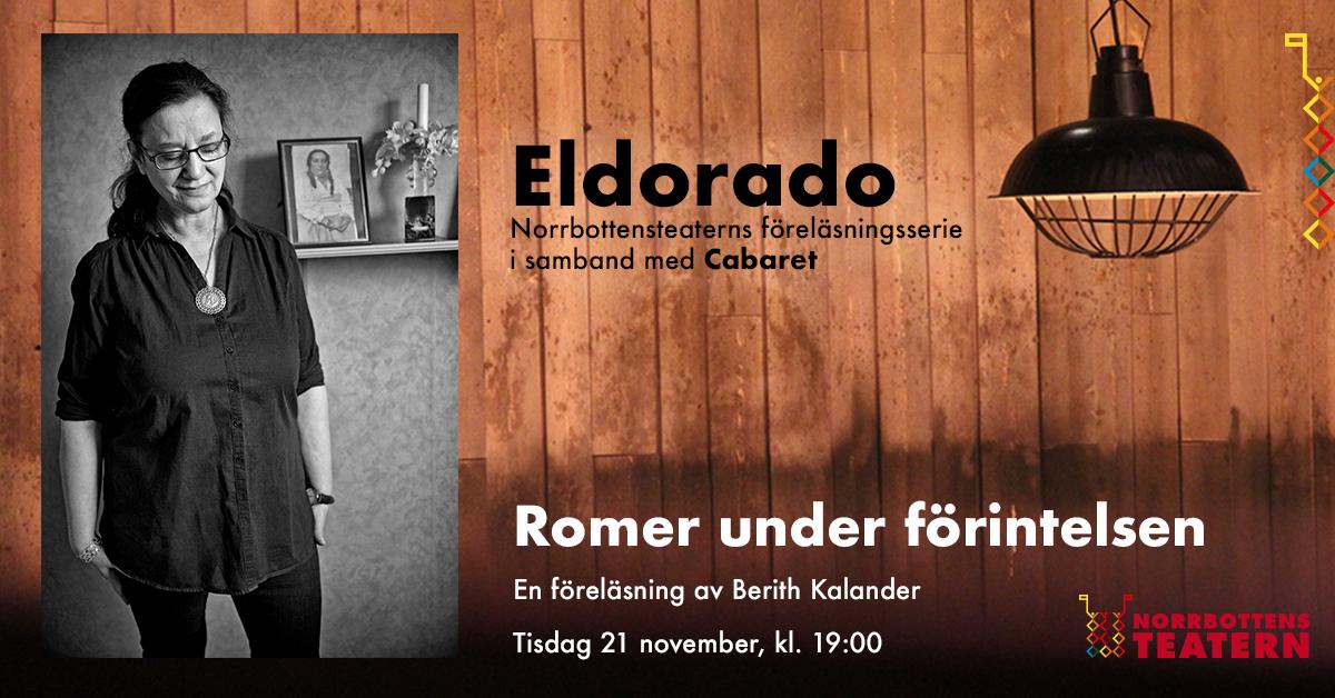 Eldorado - föreläsning med Berith Kalander