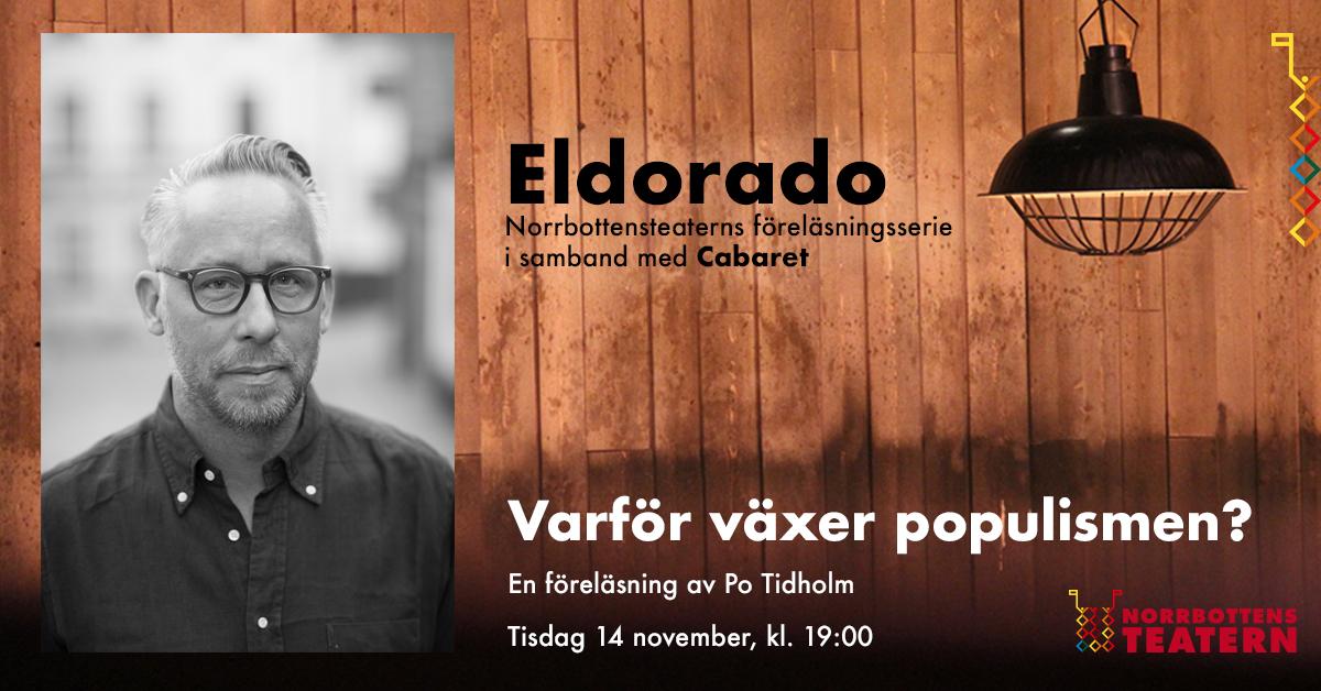 Eldorado - föreläsning med Po Tidholm